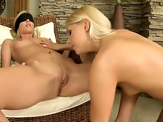 Brandy Smile and Sophie Moone in hot lez action